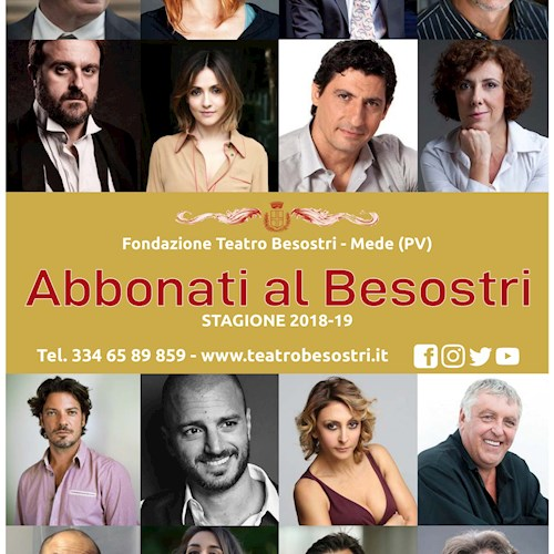 STAGIONE TEATRALE 2018 / 2019